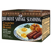 Breakfast Sausage Maple Seasoning