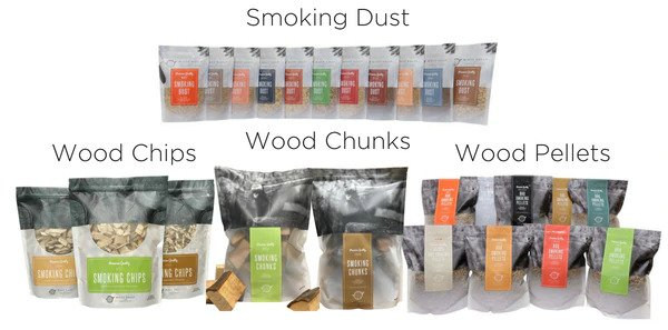 smoking woods
